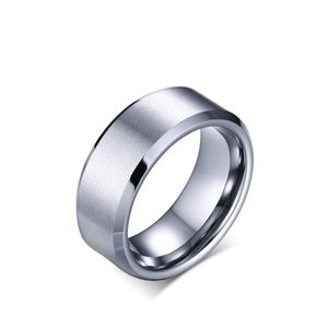 Men's Steel Ring Band Size 14